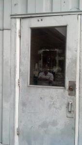 installation of fire door